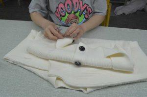 sew the cardigan